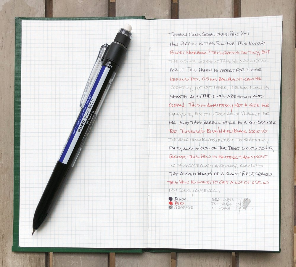 Tombow Mono Graph Multi Pen Review