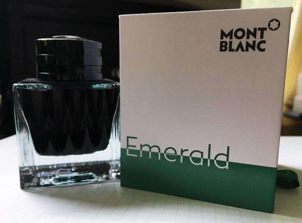 Montblanc Emerald Green Ink Review