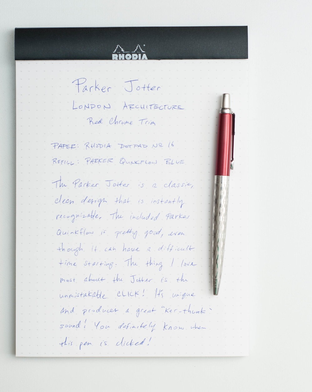 Parker Jotter Review