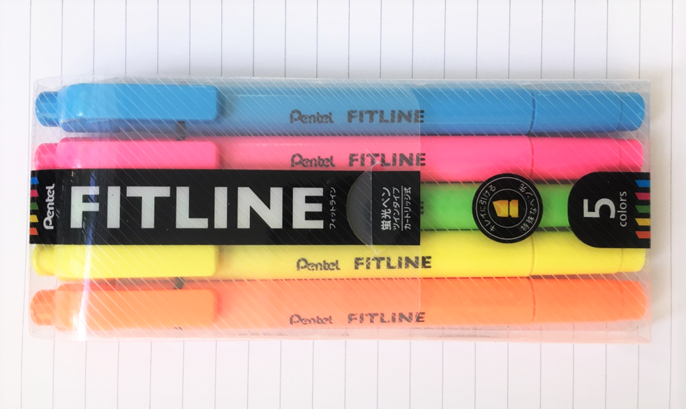 Pentel Fitline Highlighter Review