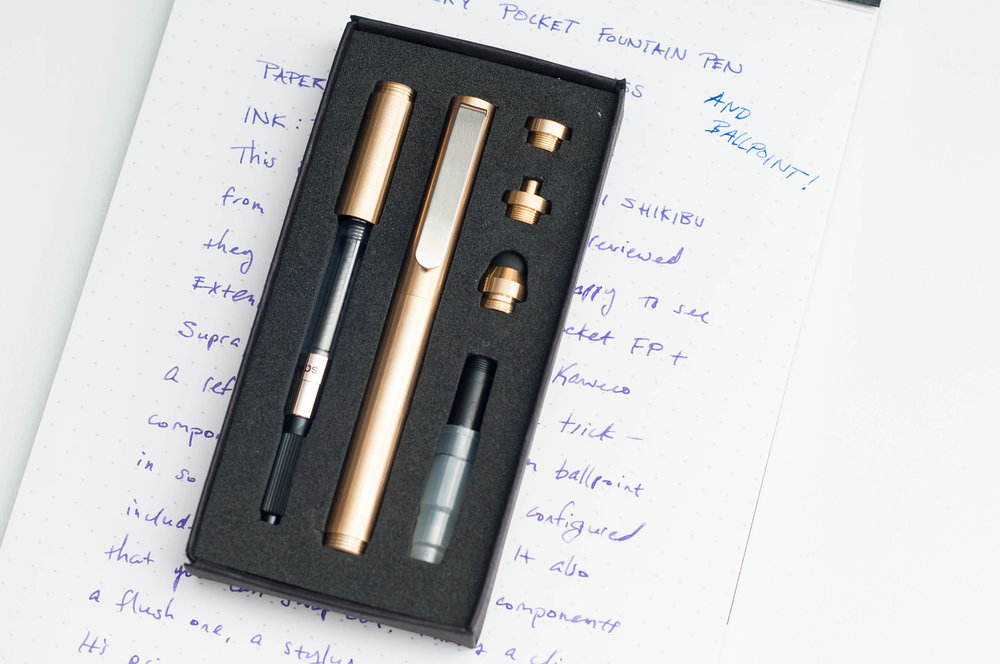 Inventery Pocket Fountain Pen Review