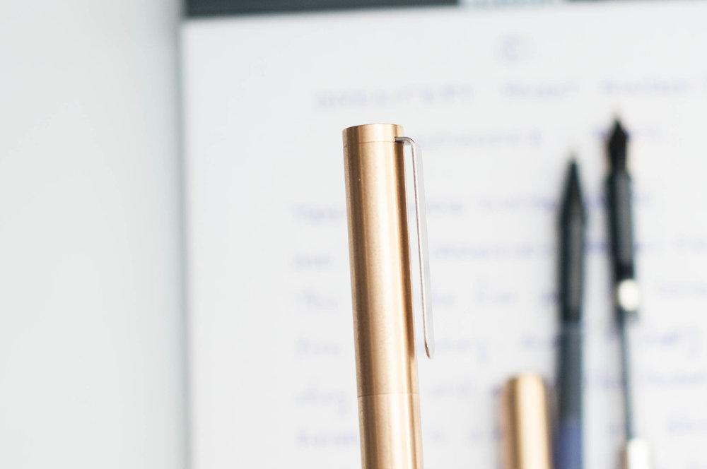 Inventery Pocket Fountain Pen Clip