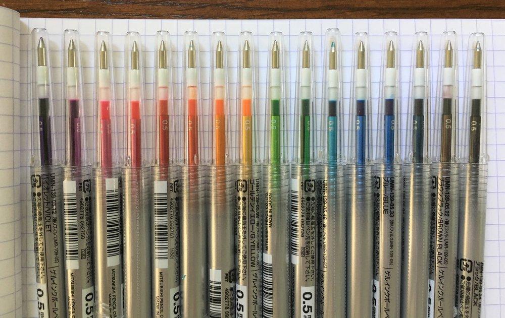 Uni Style Fit Single Color Gel Pen Review