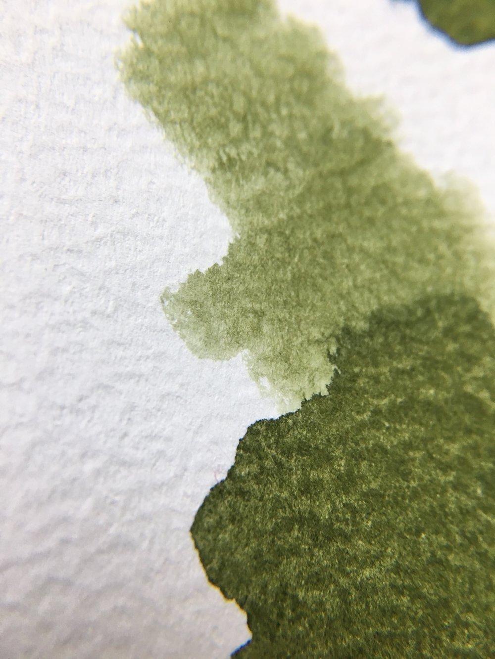 Graf von Faber-Castell Olive Green Ink Swab