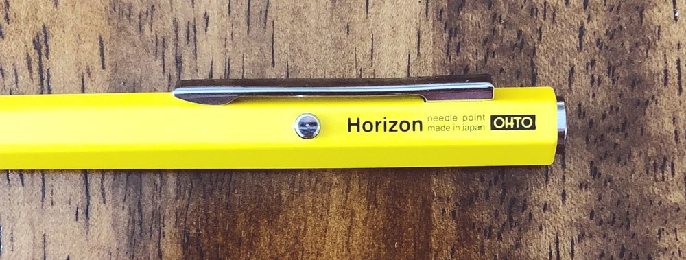 Ohto Horizon EU Ballpoint Pen Knock