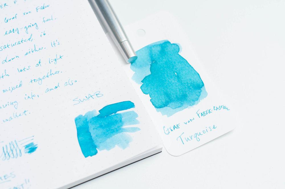 Graf von Faber-Castell Turquoise Ink Swab