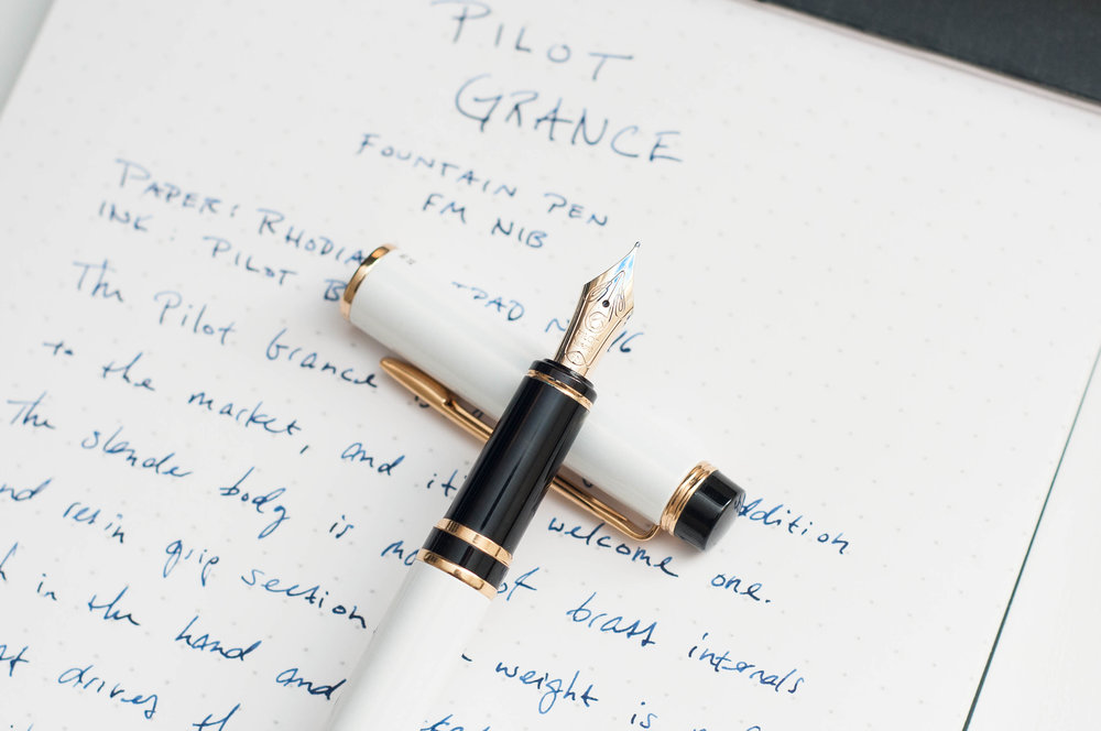 Pilot Grance Fountain Pen Section
