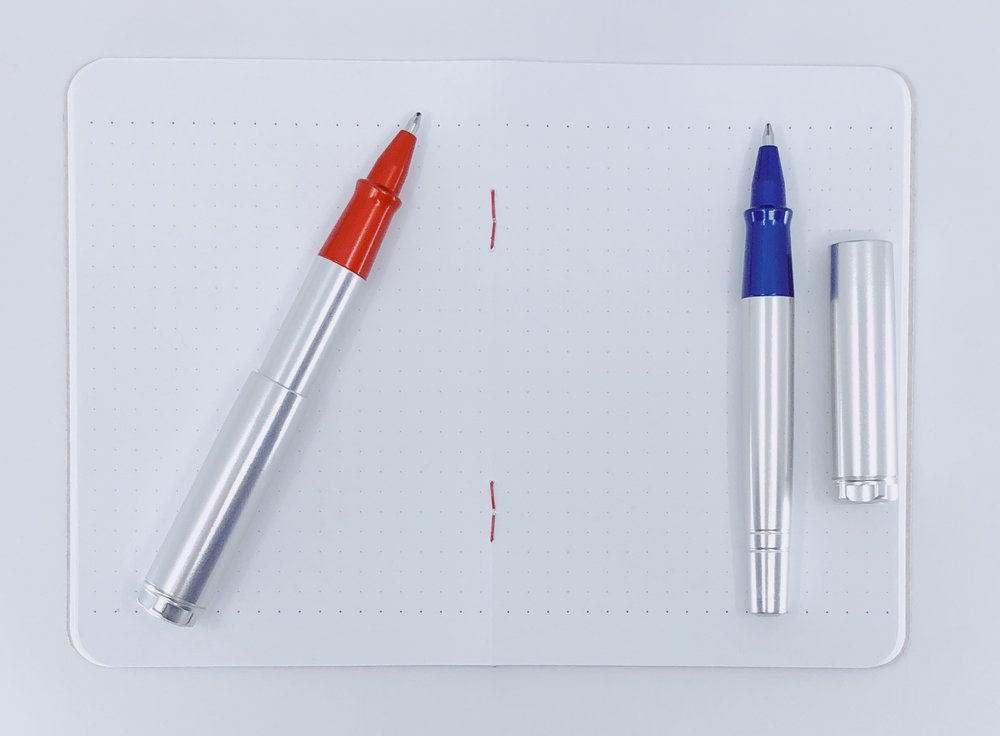 Karas Pen Co. Reaktor Galaxie Rollerball Pen Barrel
