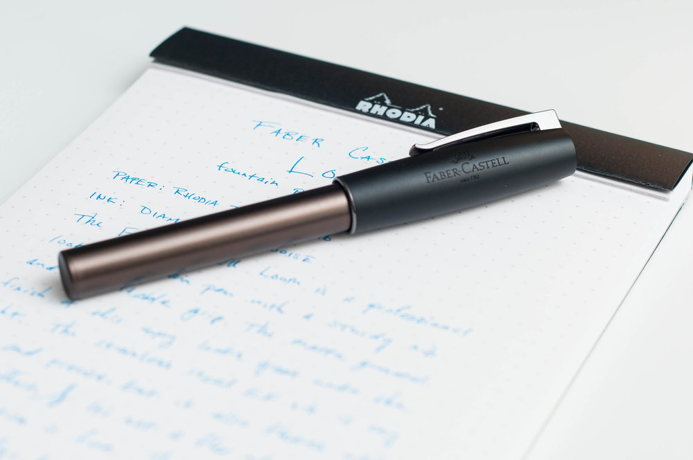 Faber Castell Loom Fountain Pen Review