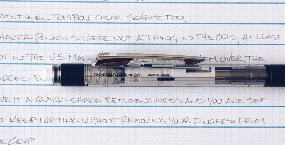 Tombow Mono Graph Grip Shaker Mechanical Pencil Eraser