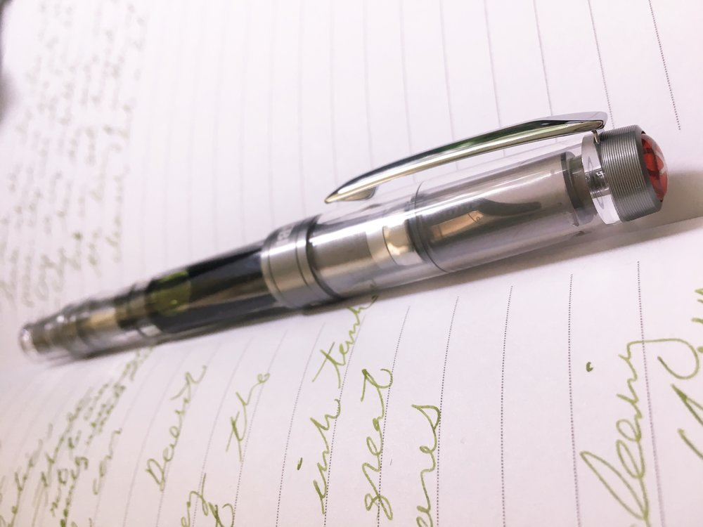 TWSBI Diamond 580 ALR Nickel Fountain Pen Review