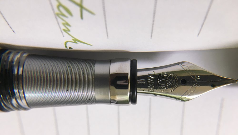 TWSBI Diamond 580 ALR Nickel Fountain Pen Grip