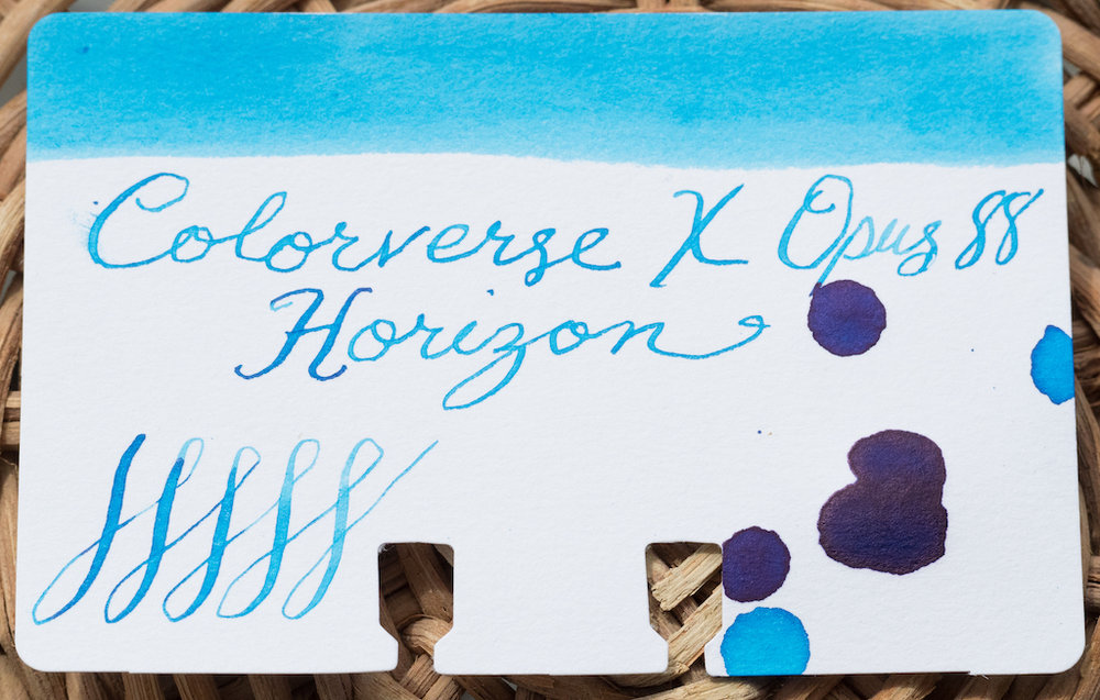 Colorverse Opus 88 Horizon Ink Swatch