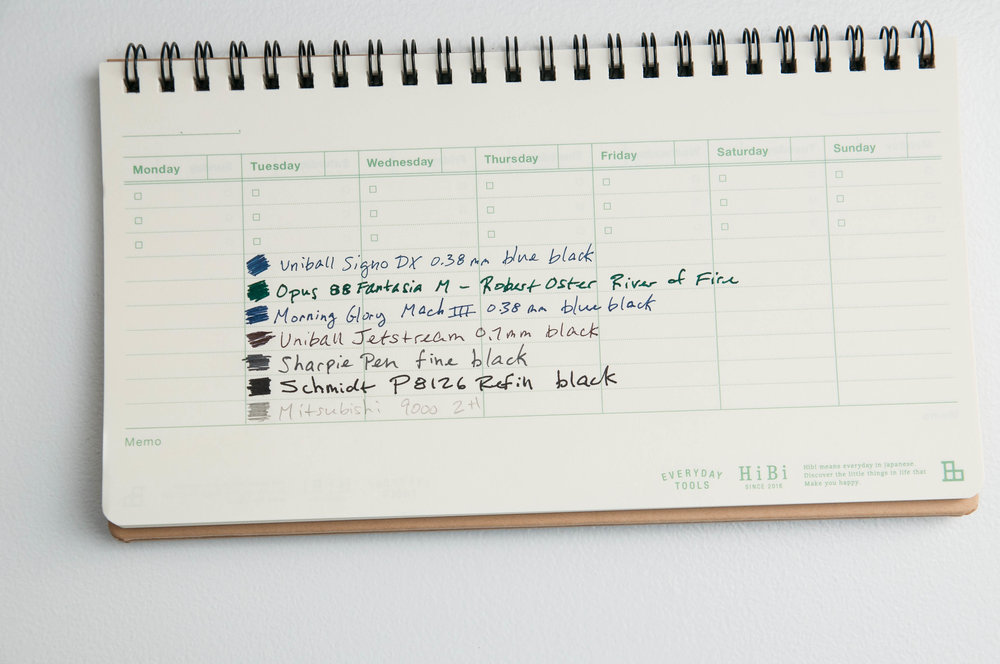 HiBi Weekly Notebook