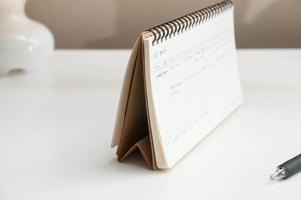 HiBi Weekly Notebook Standing