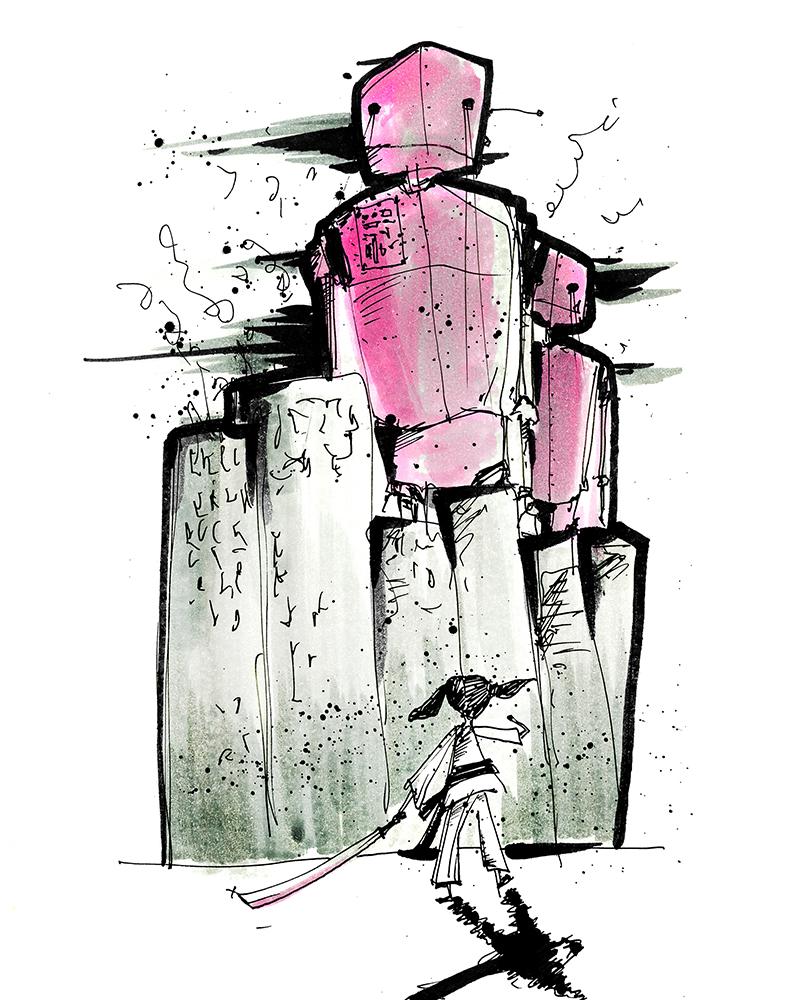 Matthew Morse Pink Robots