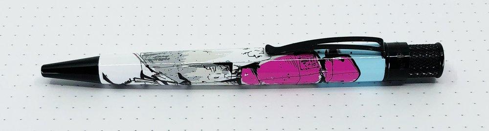 Pen Addict Retro 51 Pink Robots Clip