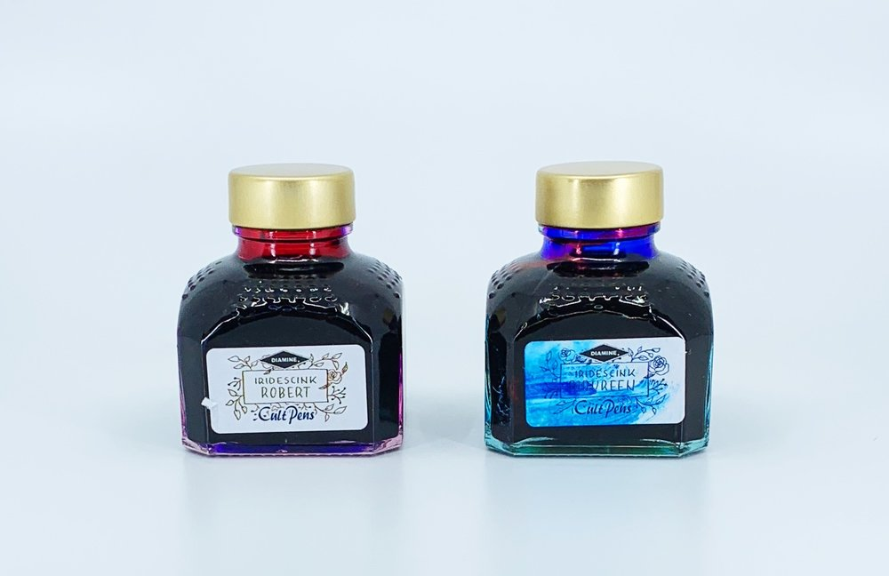 Cult Pens Diamine Maureen and Robert Iridescink Review