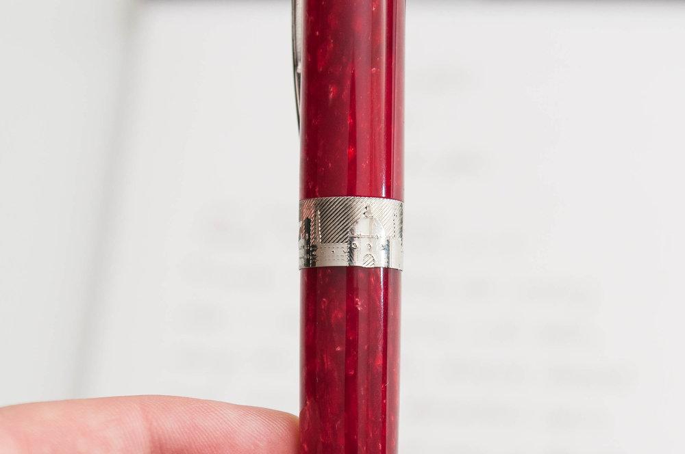 Pineider Avatar Fountain Pen Cap Band