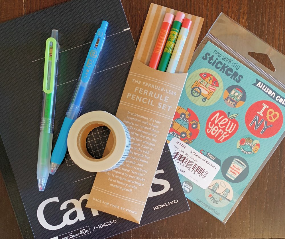 NYC Stationery Tour