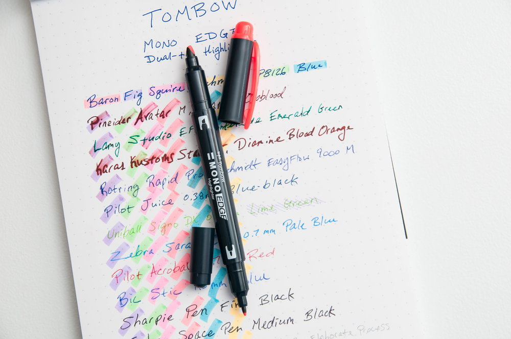 Tombow Mono Edge Dual-tip Highlighter
