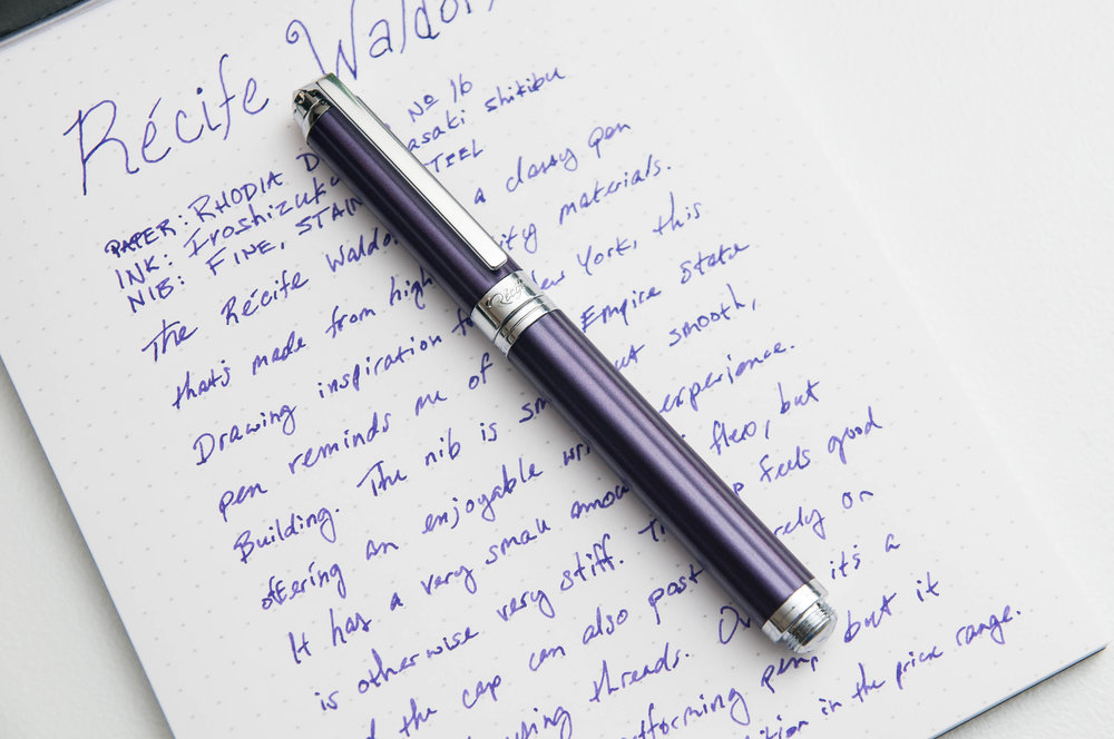 Recife Waldorf Fountain Pen Review