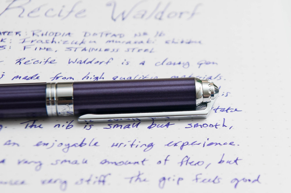 Recife Waldorf Fountain Pen Cap