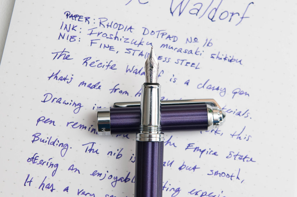 Recife Waldorf Fountain Pen Nib