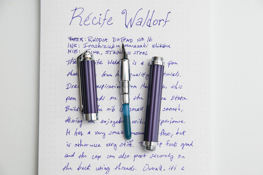Recife Waldorf Fountain Pen Converter