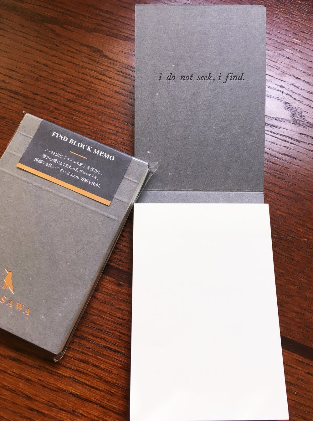 Kunisawa Memo Pad Cover