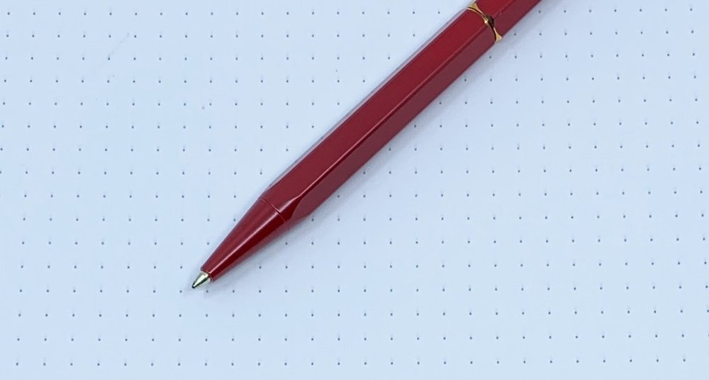 ystudio Portable Brassing Ballpoint Pen