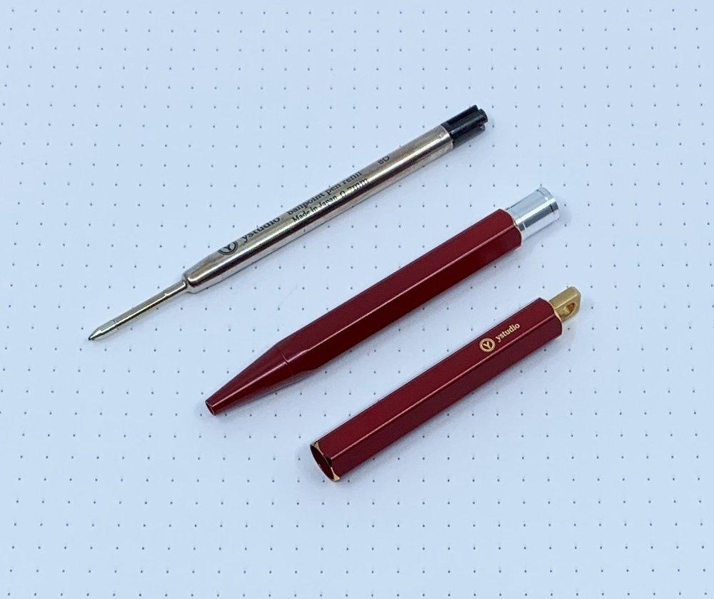 ystudio Portable Ballpoint Pen Review