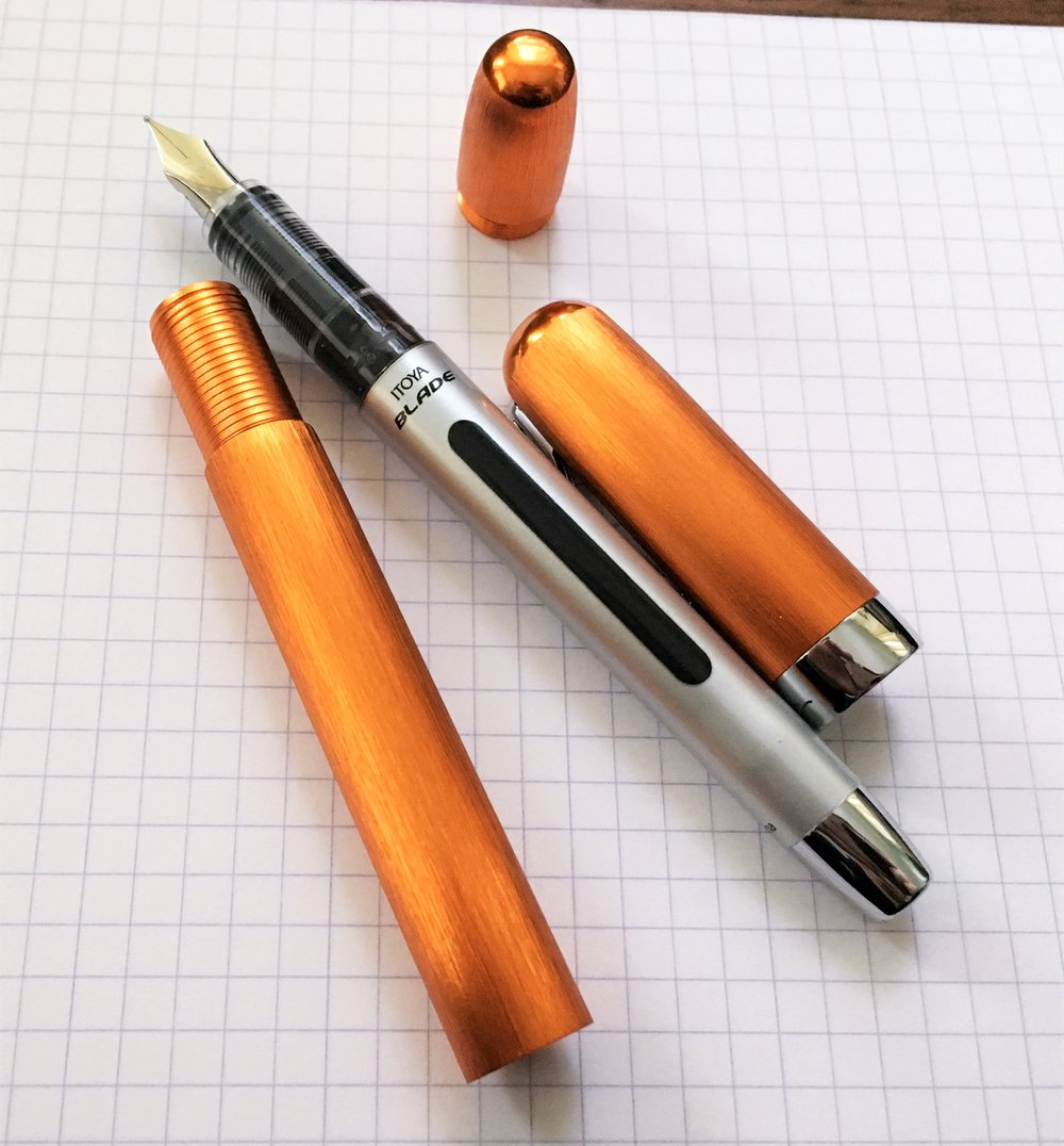 Itoya PaperSkater Galaxy Fountain Pen