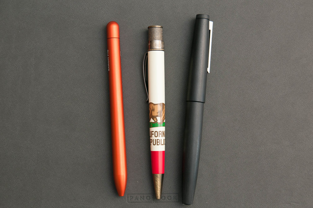 Retro 51 Tornado JetPens California Republic Edition Comparison