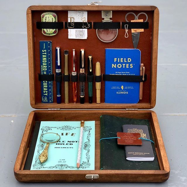 Galen Leather Writing Box