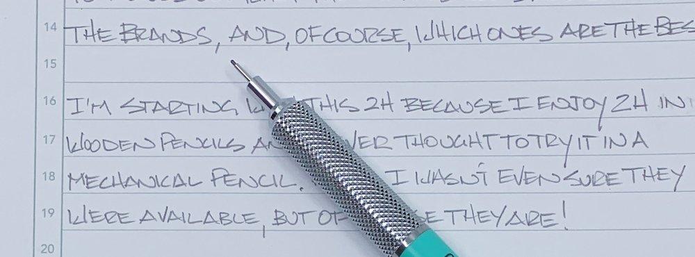 Pilot Neox 2H 0.5 mm Graphite Writing