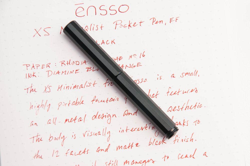 ensso XS Minimalist Pocket Fountain Pen Review