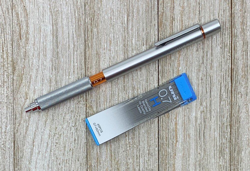 Uni NanoDia Low-Wear Pencil Lead H 0.7 mm Review
