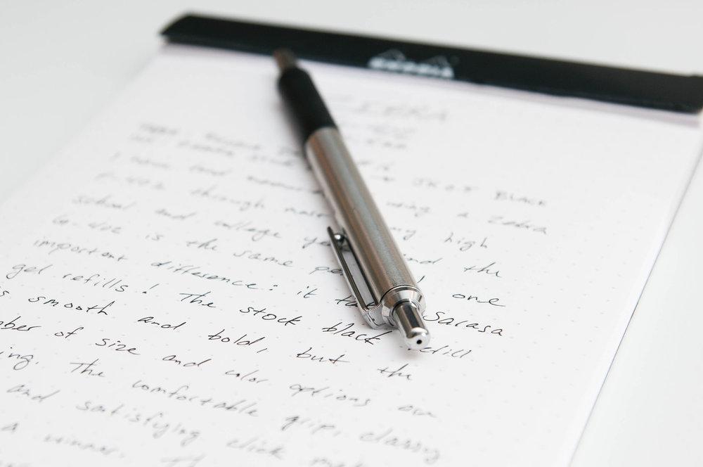 Zebra G-402 0.5mm Gel Pen