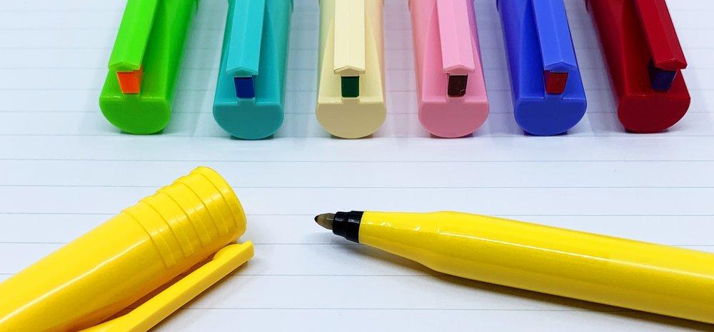 Pentel B100 45th Anniversary Pen Tip