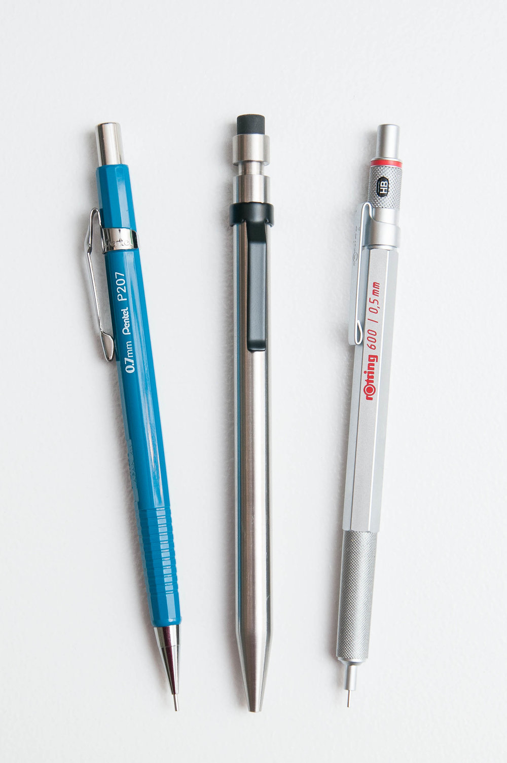 Modern Fuel Pencil Comparison