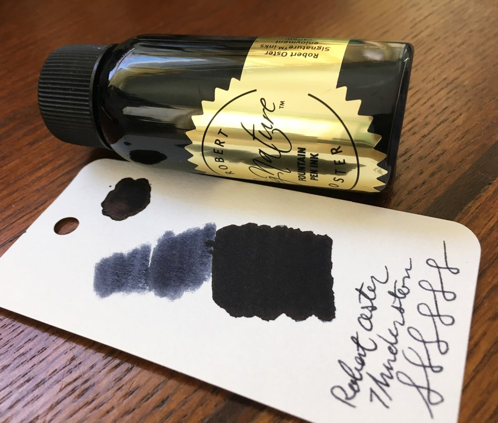 Robert Oster Thunderstorm Ink Review