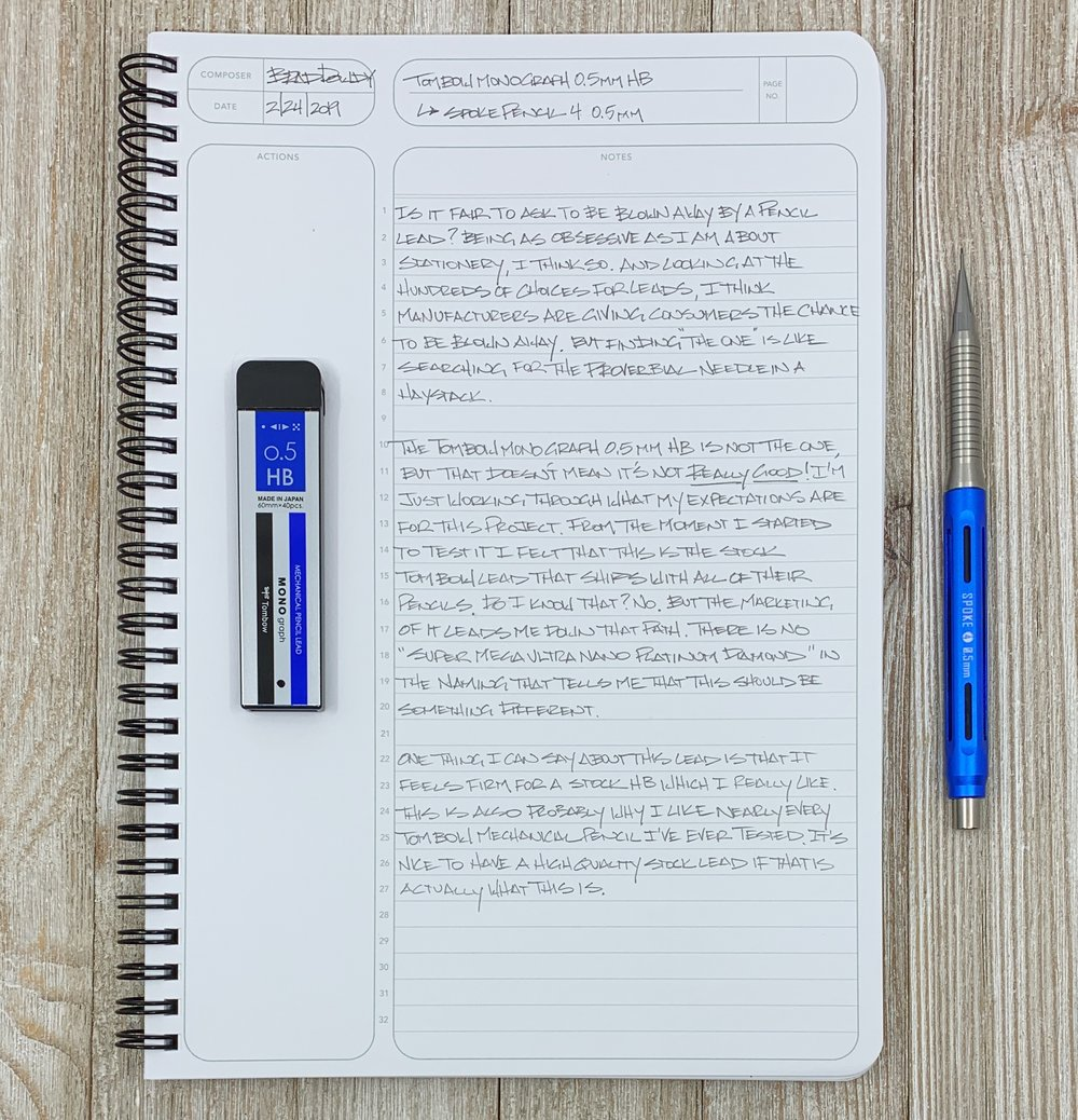 Tombow Mono Graph Lead Review