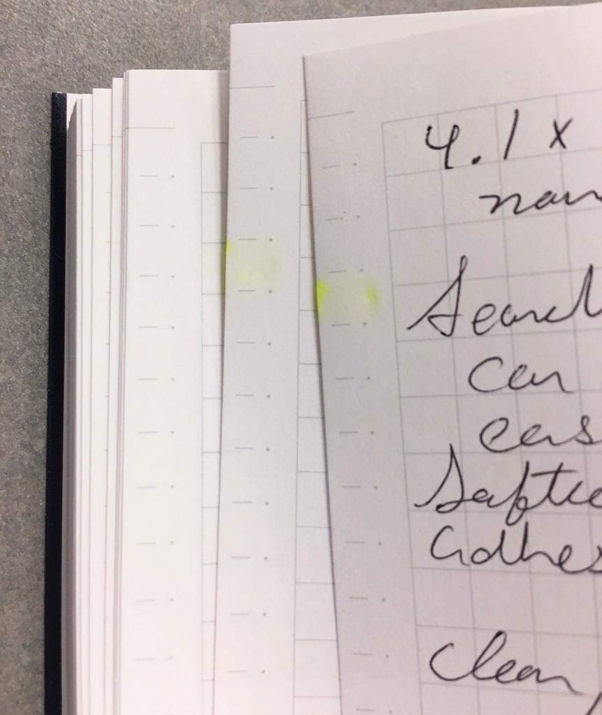Kokuyo Buncobon Dot Cover Notebook Color Coding