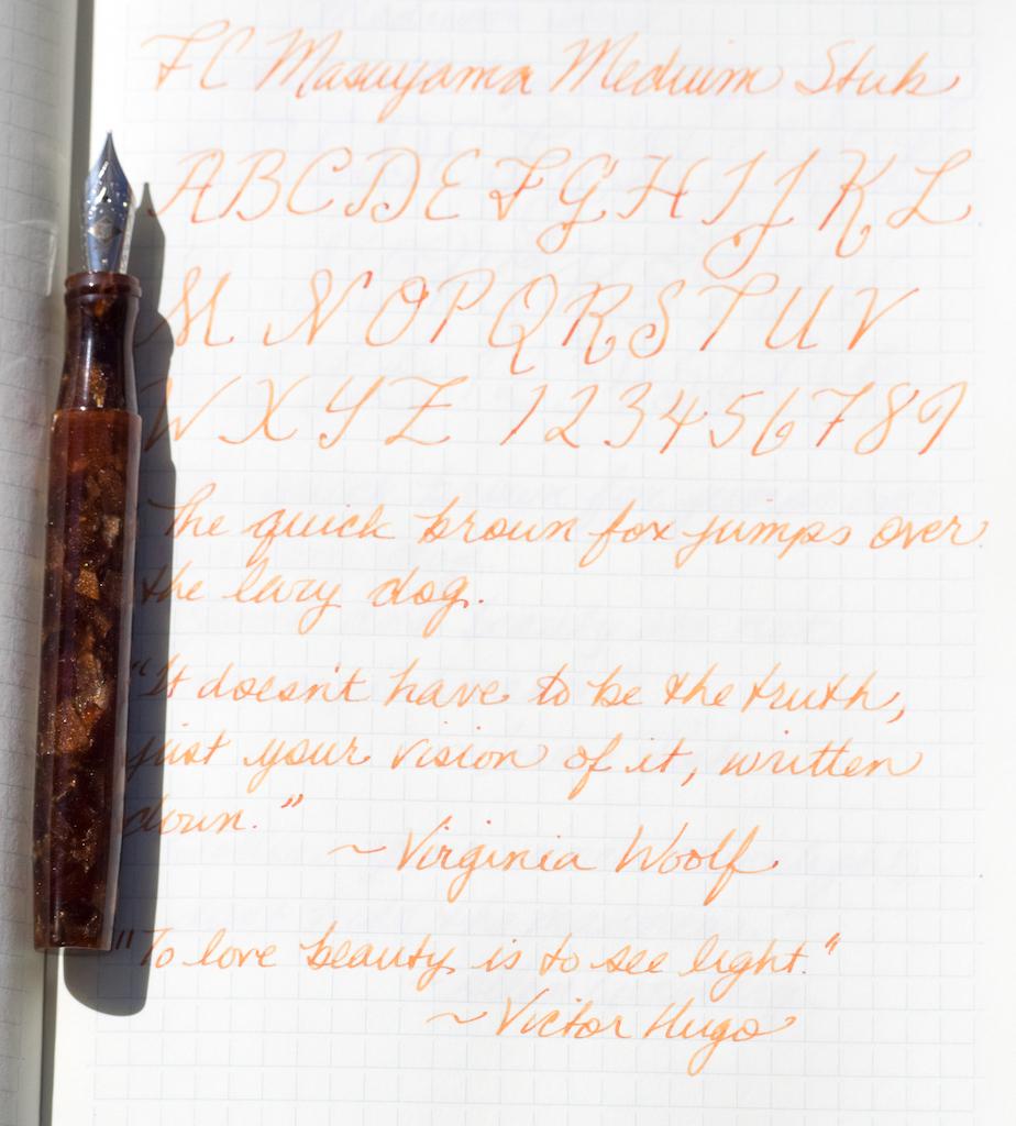 Franklin-Christoph Model 46 Writing