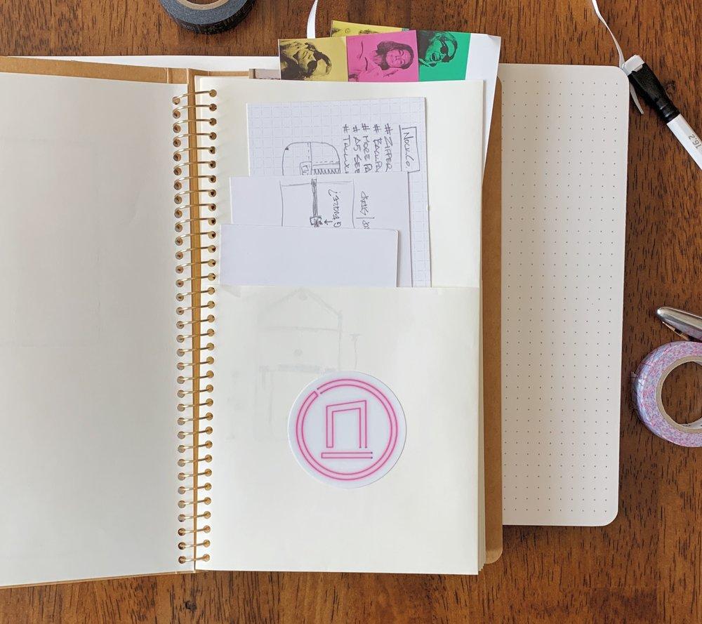 Traveler's Company Spiral Ring A5 Slim Paper Pocket Notebook Nock