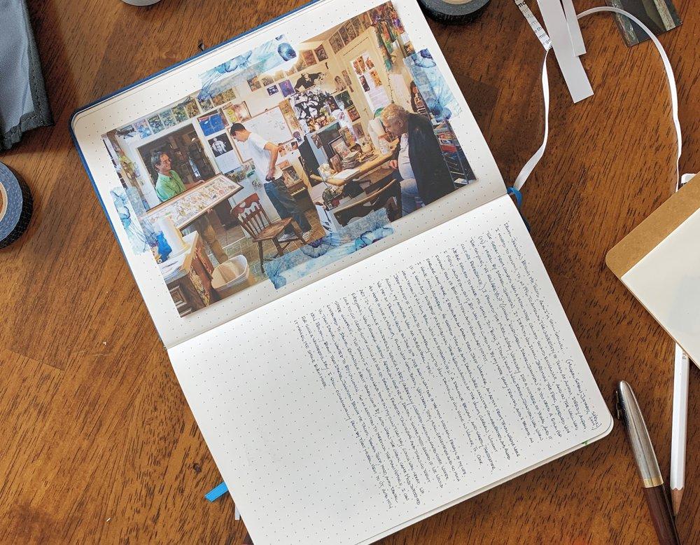 Traveler's Company Spiral Ring A5 Slim Paper Pocket Notebook DJ