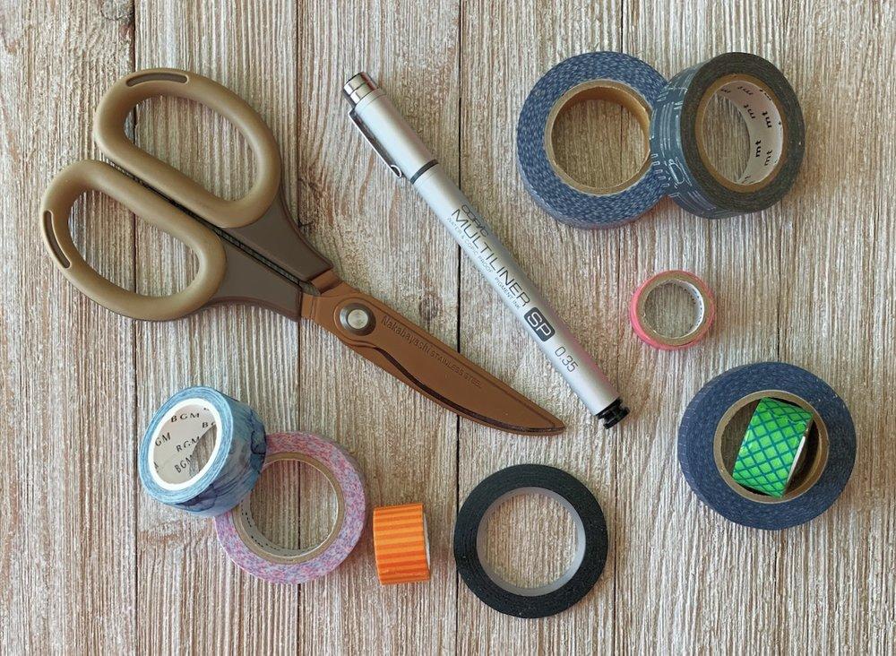 Scissors and Washi