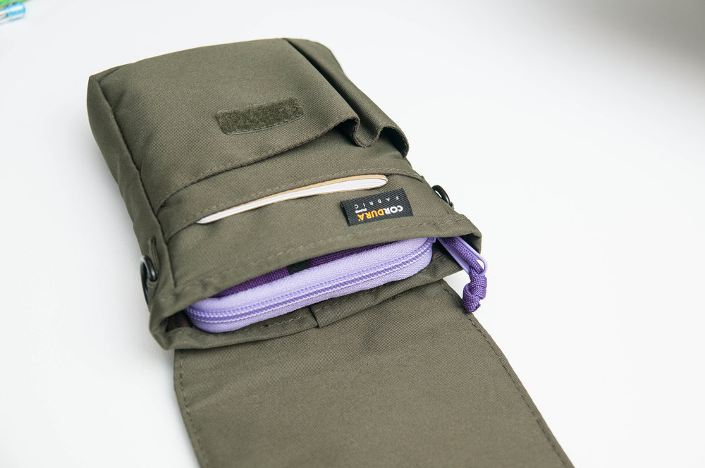 Lihit Lab Smart Fit A6 Carry Pouch Loaded