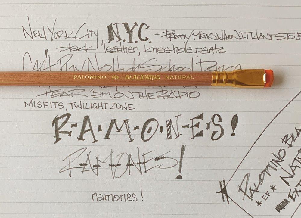 Palomino Blackwing Natural Writing